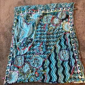 Wrapped Indian Scarf